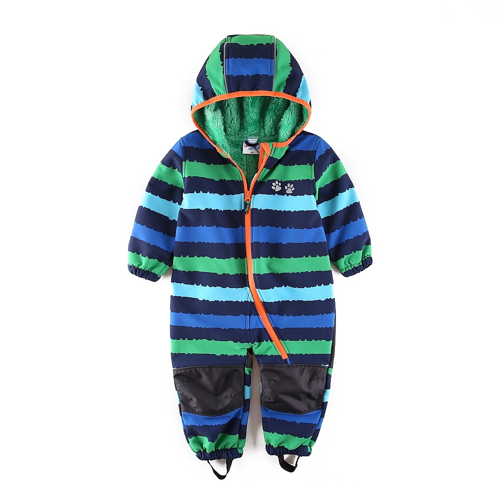 Umkaumka® Boy softshell romper water-repellent and windproof