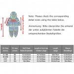 umkaumka Baby Girl Water Repellent Onesie All in One Romper Jumpsuit - Muddy Play Outfits